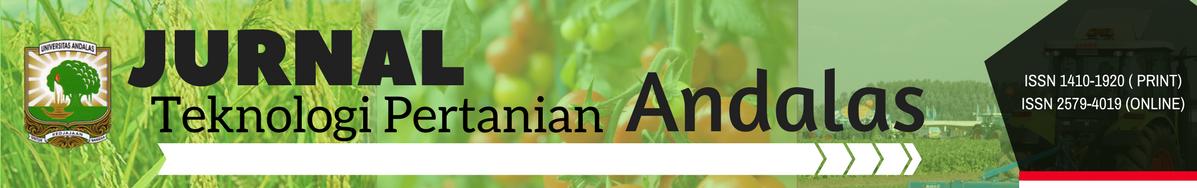 Jurnal Teknologi Pertanian Andalas